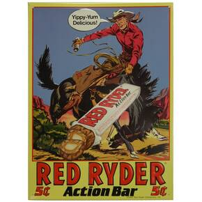 Frost Cutlery Red Ryder Action Bars Sign
