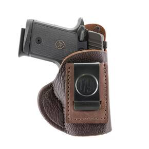 1791 Fair Chase Deer Hide IWB Holster Size 1 Brown RH