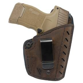 Versacarry Comfort Holster IWB Forward Cant Kydex Water Buffalo Hybrid Essential Sz3