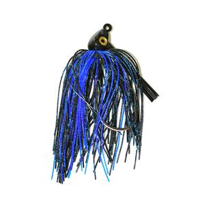 Gambler Heavy Cover Swim Jig Lure 1/2 oz - Black Blue