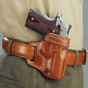 "Galco Colt 5"" 1911 Avenger Belt Holster Right Hand Tan"