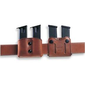 Galco for Glock.45,10MM; H&K USP 9MM; .40 S&W Double Magazine Carrier Havana