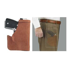 Galco for Glock 26, 27, 33 Pocket Protector Holster Ambidextrous Tan