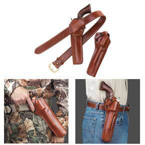 "Galco Ruger New Vaquer 7 1/2"" SAO Belt Holster Right Hand Tan"