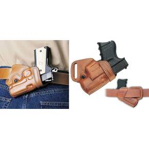 Galco Beretta 70S Small Of Back Belt Holster Right Hand Tan