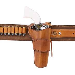 "Galco Ruger .45 Vaquero 4 5/8"" 1880's Holster Strongside Right Hand Tan"