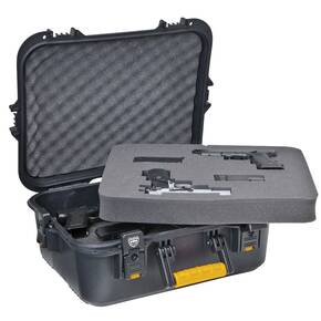 Plano Gun Guard AW Series XL Pistol/Accessory Case with Deluxe Latches