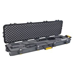 Plano Gun Guard AW Series Double Scope Rifle Case with Wheels Black