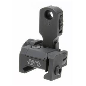 GG&G Mad Flip Up Rear Sight With Locking Detent