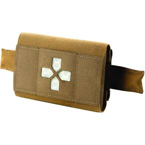Belt Mounted Pouch Trauma Kit Coyote Brown