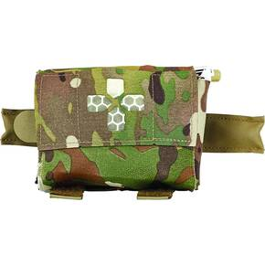 Belt Mounted Pouch Trauma Kit Multicam