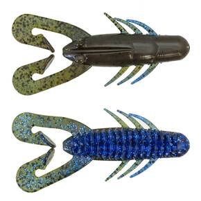 "Gene Larew Wheeler Hammer Craw Soft Creature Lure 3-1/2"" 1/8 oz - Bama Bug"