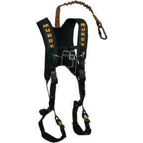 Muddy Outdoors Diamondback Harness Lineman's Rope Tree Strap Suspension Relief Strap & Carabiner