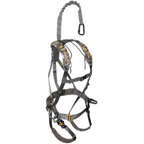 Muddy Outdoors Ambush Safety Harness - Optifade Elevated II Camo / Standard Quick-Release Buckles
