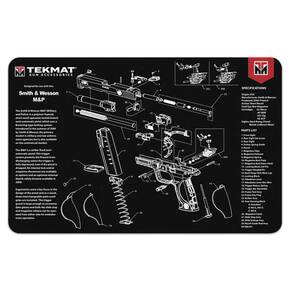 TekMat 11x17 Gun Cleaning Mat- Smith & Wesson M&P