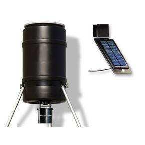 GSM Wildview 225 lb Feeder with Solar Charger Combo