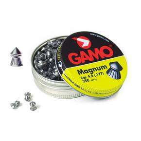 Gamo .177 cal Mag Pellets Snipe-Point - 250/ct