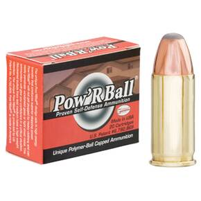 Glaser Pow'RBall Handgun Ammunition  .32 ACP 55 gr JHP 1100 fps 20/box