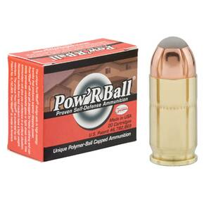 Glaser Pow'RBall Handgun Ammunition  .380 ACP 70 gr JHP 1100 fps 20/box