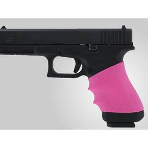 Hogue Grips HandAll Full Size Universal Grip Sleeve Fits Medium Auto - Pink