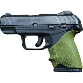 Hogue HandAll Beavertail Grip Sleeve Ruger Security 9 Compact - OD Green