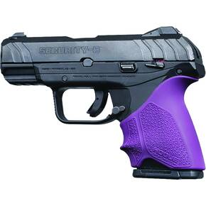 Hogue HandAll Beavertail Grip Sleeve Ruger Security 9 Compact - Purple