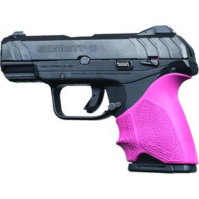 Hogue HandAll Beavertail Grip Sleeve Ruger Security 9 Compact - Pink