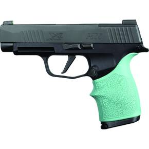 Hogue HandAll Beavertail Grip Sleeve Sig Sauer P365XL- Aqua