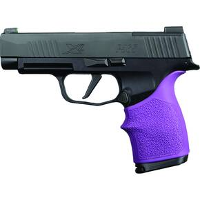 Hogue HandAll Beavertail Grip Sleeve Sig Sauer P365XL- Purple