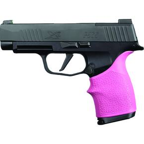 Hogue HandAll Beavertail Grip Sleeve Sig Sauer P365XL- Pink