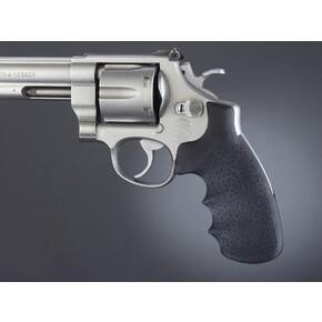 Hogue Grips S&W N Frame Round Butt Rubber Monogrip