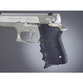 Hogue S&W 6906, Shorty 40 Rubber Grips with Finger Grooves