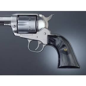 Hogue Ruger Blackhawk/Vaquero Black Pearl Cowboy Panels
