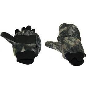 HeatMax HotHands Heated Fleece Glove/Mittens - Mossy Oak Medium/Large