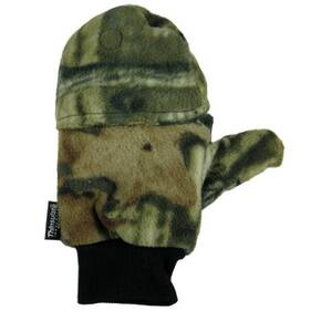 HeatMax HotHands Heated Fleece Glove/Mittens - Mossy Oak Large/X-Large