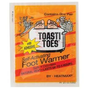 HeatMax HotHands Toasti-Toes Toe Warmers with Adhesive