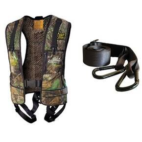 Hunter Safety System Pro Series Safety Harness 2X / 3X Large - Realtree
