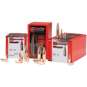 "Hornady Match Bullets .22 cal .224"" 68 gr BTHP MATCH 100/ct"