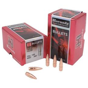 "Hornady Traditional & FMJ Bullets .30 cal .308"" 150 gr FMJBT 100/ct"
