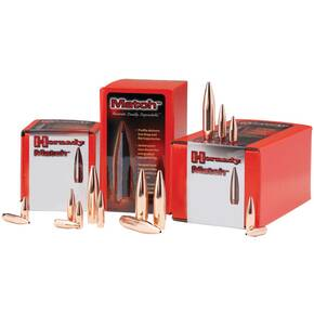 "Hornady Match Bullets 8mm .323"" 196 gr BTHP 100/ct"