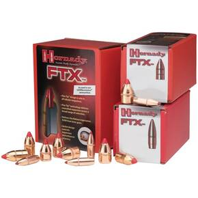 "Hornady FTX Rifle Bullets .35 cal .358"" 200 gr FTX 100/ct"