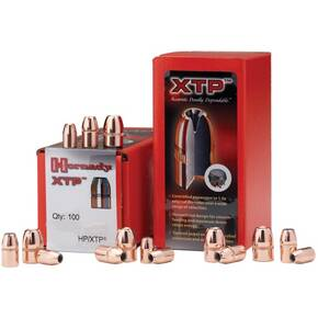 "Hornady Handgun Bullets .45 cal .451"" 200 gr XTPHP w/out Cannelure 100/ct"