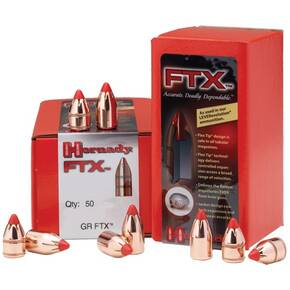 "Hornady FTX Rifle Bullets .45 cal .452"" 250 gr FTX 50/ct"