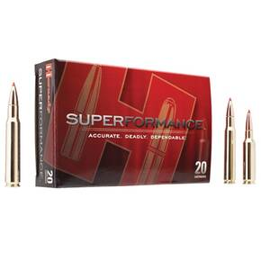 Hornady Superformance Rifle Ammunition .243 Win 80 gr GMX 3425 fps - 20/box
