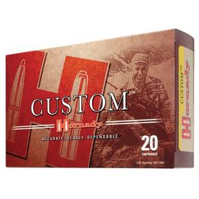 Hornady Custom Rifle Ammunition .300 H&H 180 gr IB 2900 fps - 20/box