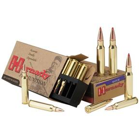 Hornady Match Rifle Ammunition .338 Lapua Mag 285 gr BTHP 2745 fps - 20/box