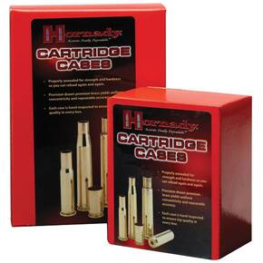 Hornady Unprimed Brass Rifle Cartridge Cases .257 Wby 50/ct