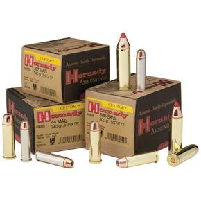 Hornady Custom Handgun Ammunition .44 Mag 240 gr XTP 1350 fps 20/box
