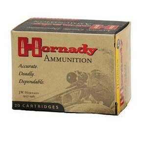 Hornady Custom Handgun Ammunition 10mm 180 gr XTP 1275 fps 20/Box