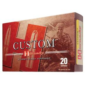 Hornady Custom Rifle Ammunition .358 Win 200 gr SP 2475 fps 20/Box